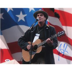 James Taylor Signed 11x14 Photo (PSA COA)