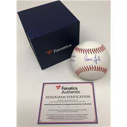 """Aaron Judge Signed Limited Edition OML Baseball Inscribed """"Fastest to 60 HR"""" (Fanatics Hologram)"""