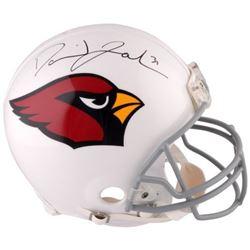 David Johnson Signed Cardinals Full-Size Authentic On-Field Helmet (Fanatics Hologram)