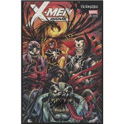 "Stan Lee Signed 2017 ""X-Men Prime: Venomized"" Issue #1 Variant Edition Marvel Comic Book (Lee COA)"