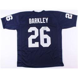 Saquon Barkley Signed Penn State Nittany Lions Jersey (JSA COA)