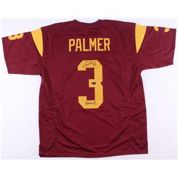 "Carson Palmer Signed USC Trojans Jersey Inscribed ""Heisman 02"" (Radtke COA)"
