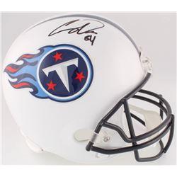 Corey Davis Signed Titans Full-Size Helmet (JSA COA)