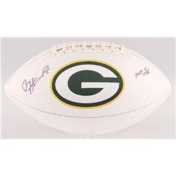 "Paul Hornung Signed Green Bay Packers Logo Football Inscribed ""HOF 86"" (JSA COA)"