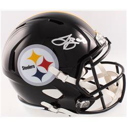 Le'Veon Bell Signed Steelers Full-Size Speed Helmet (JSA COA)