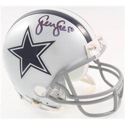 Sean Lee Signed Cowboys Mini-Helmet (Beckett COA)