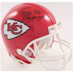 Tony Gonzalez Signed Chiefs Mini-Helmet (JSA COA)