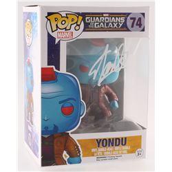 """Stan Lee Signed """"Yondu"""" #74 Guardians of the Galaxy Marvel Bobble-Head Funko Pop Vinyl Figure (Radtk"""