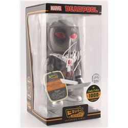 """Stan Lee Signed LE """"Deadpool"""" Marvel Hikari Vinyl Action Figure (Radtke COA  Lee Hologram)"""