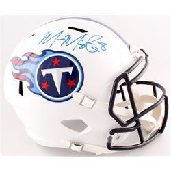 Marcus Mariota Signed Titans Full-Size Speed Helmet (Beckett COA)