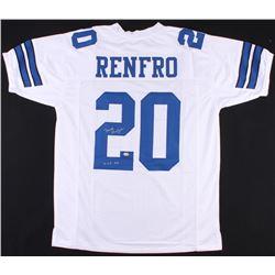 "Mel Renfro Signed Cowboys Jersey Inscribed ""HOF 96"" (SGC COA)"