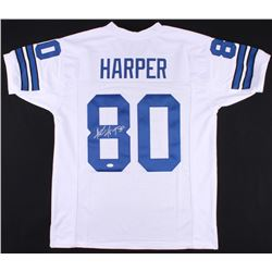 Alvin Harper Signed Cowboys Jersey (JSA COA)