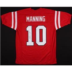 Eli Manning Signed Ole Miss Rebels Jersey (JSA COA)