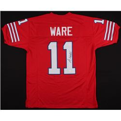 Andre Ware Signed Houston Cougars Jersey (JSA COA)