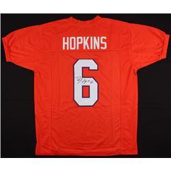 DeAndre Hopkins Signed Clemson Tigers Jersey (JSA COA)