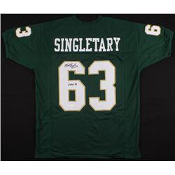 "Mike Singletary Signed Baylor Bears Jersey Inscribed ""CHOF 94"" (JSA COA)"