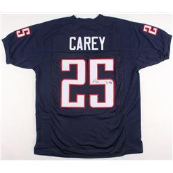 Ka'Deem Carey Signed Arizona Wildcats Jersey (JSA COA)