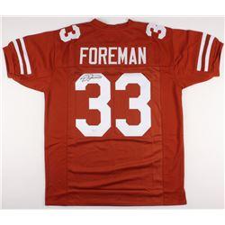 D'Onta Foreman Signed Texas Longhorns Jersey (JSA COA)