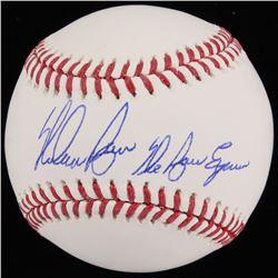 "Nolan Ryan Signed OML Baseball Inscribed ""The Ryan Express"" (Beckett COA  Ryan Hologram)"