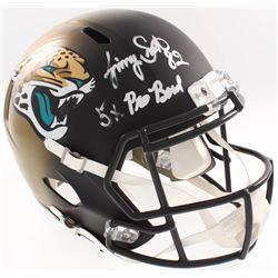 "Jimmy Smith Signed Jacksonville Jaguars Full-Size Speed Helmet Inscribed ""5x Pro Bowl"" (Radtke COA)"