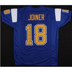 """Charlie Joiner Signed Chargers Jersey Inscribed """"HOF 96"""" (Jersey Source COA)"""