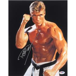 "Dolph Lundgren Signed ""Rocky IV"" 11x14 Photo (PSA COA)"