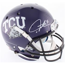 LaDainian Tomlinson Signed TCU Horned Frogs Full-Size Helmet (Radtke COA  Tomlinson Hologram)