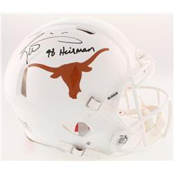 "Ricky Williams Signed Texas Longhorns Full-Size On-Field Speed Helmet Inscribed ""98 Heisman"" (Radtke"