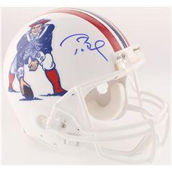Tom Brady Signed Patriots Full-Size On-Field Throwback Helmet (Tristar Hologram  Radtke COA)