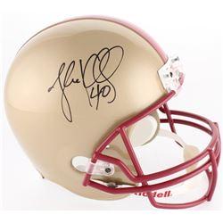 Luke Kuechly Signed Boston College Eagles Full-Size Helmet (JSA COA)