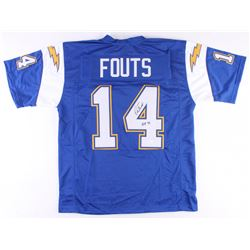 """Dan Fouts Signed Chargers Jersey Inscribed """"HOF '93"""" (JSA COA)"""