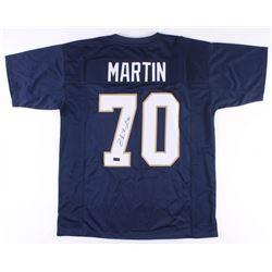 Zack Martin Signed Notre Dame Jersey (Radtke Hologram)