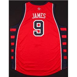 LeBron James Signed LE Team USA Jersey (UDA COA)