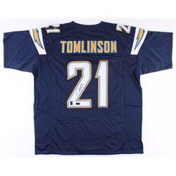 LaDainian Tomlinson Signed San Diego Chargers Jersey (Radtke COA  Tomlinson Hologram)