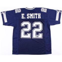 Emmitt Smith Signed Cowboys Jersey (Prova  Smith Hologram)