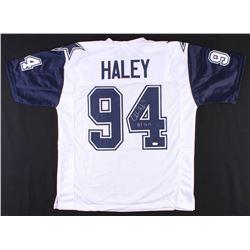"Charles Haley Signed Cowboys Jersey Inscribed ""HOF 2015"" (JSA COA  Radtke COA)"