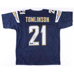 "LaDainian Tomlinson Signed Chargers Jersey Inscribed ""HOF 17"" (Radtke COA  Tomlinson Hologram)"