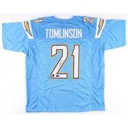 LaDainian Tomlinson Signed Chargers Jersey (Radtke COA  Tomlinson Hologram)