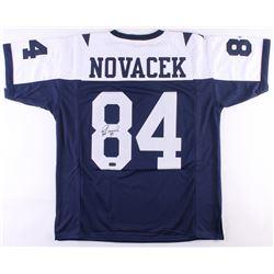 Jay Novacek Signed Cowboys Thanksgiving Jersey (Radtke COA)