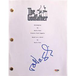 "Talia Shire Signed ""The Godfather"" Full Movie Script (PSA COA)"