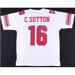 Courtland Sutton Signed SMU Mustangs Jersey (Radtke COA)