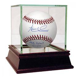 "Aaron Nola Signed Baseball Inscribed ""MLB Debut 7/21/15"" (Steiner COA)"