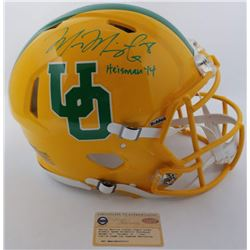 Marcus Mariota Signed LE Oregon Ducks Throwback Full-Size Authentic On-Field Speed Helmet (Steiner C