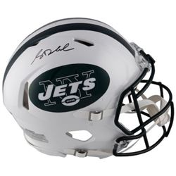 Sam Darnold Signed Jets Full-Size Authentic On-Field Speed Helmet (Fanatics Hologram)