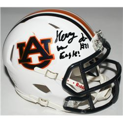 "Kerryon Johnson Signed Auburn Tigers Speed Mini-Helmet Inscribed ""War Eagle!"" (Radtke COA)"