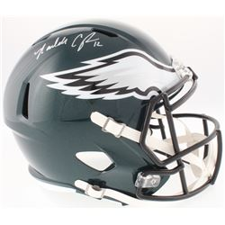 Randall Cunningham Signed Eagles Full-Size Speed Helmet (JSA COA  Radtke Hologram)