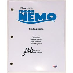 """Albert Brooks Signed """"Finding Nemo"""" Full Movie Script (PSA COA)"""