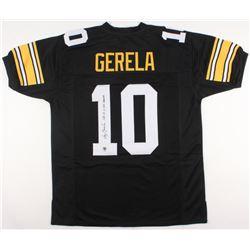 "Roy Gerela Signed Steelers Jersey Inscribed ""SB IX, X, XIII Champs"" (Jersey Source COA)"