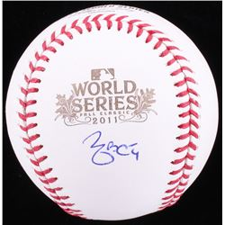 Yadier Molina Signed 2011 World Series Baseball (MLB Hologram)