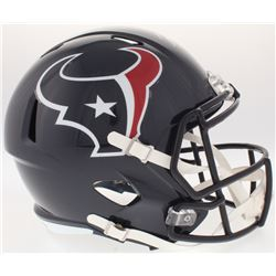 Will Fuller Signed Texans Full-Size Speed Helmet (JSA COA)